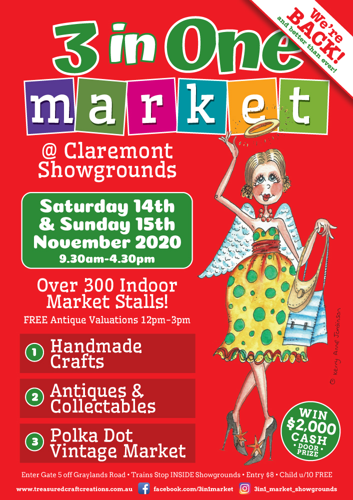 3 in 1 flyer for November market